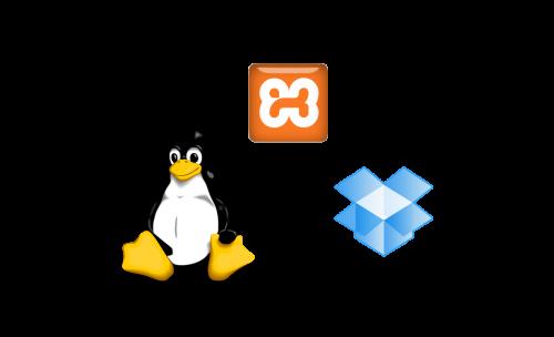 linux-dropbox-xampp
